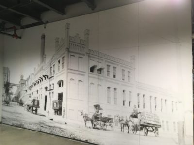 ADW custom acoustic panels from historic photo