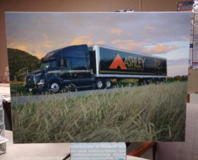 ADW custom acoustic panels company artwork