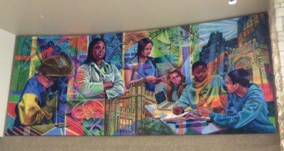 ADW custom acoustic panels wall mural